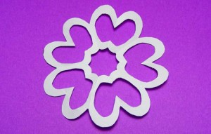 kirigami flower variation 4