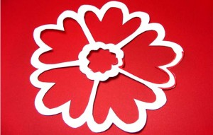 kirigami flower variation 1