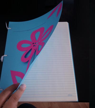 DIY notebook - inside