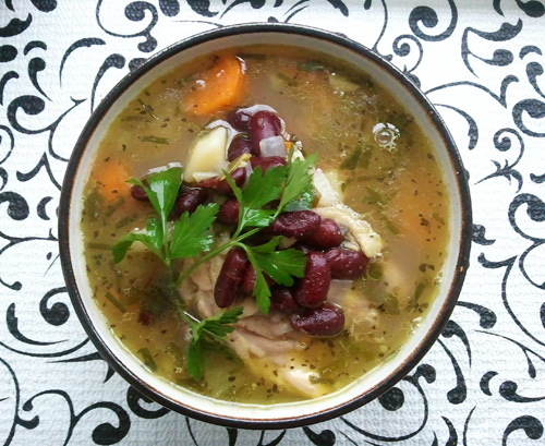 homemade-vegetable-chicken-soup