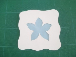 flower stained glass craft for kids