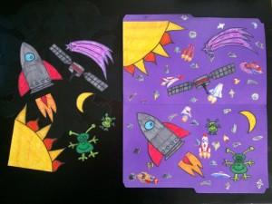 space-folder-game