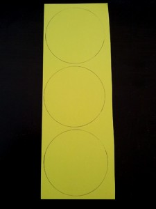 Draw out larger circles.