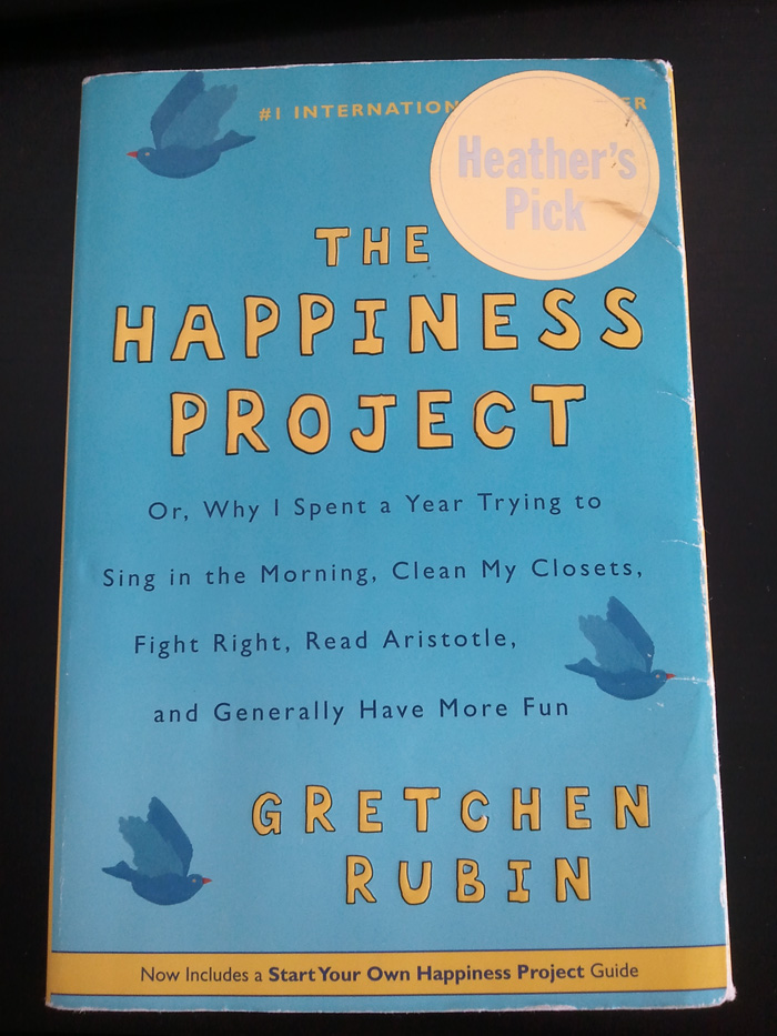 happiness project blog
