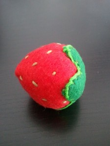 Handmade Felt Strawberry