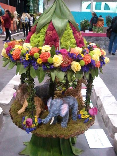 Flower carousel