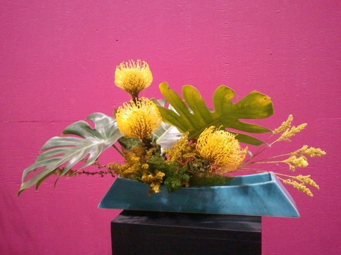 Yellow Ikebana