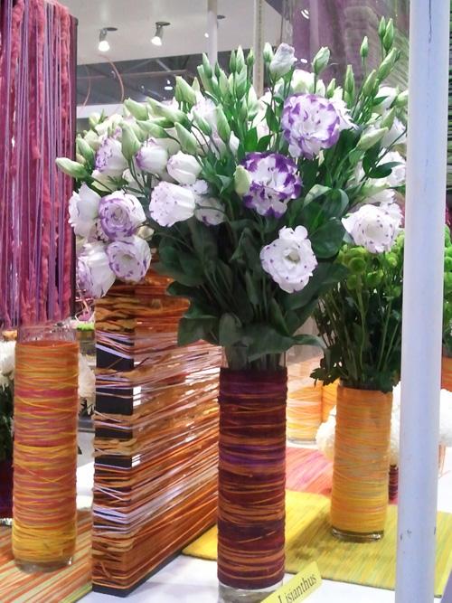 String vases