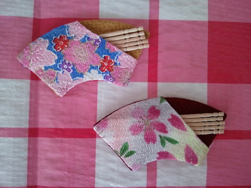 Cherry blossom toothpick holder