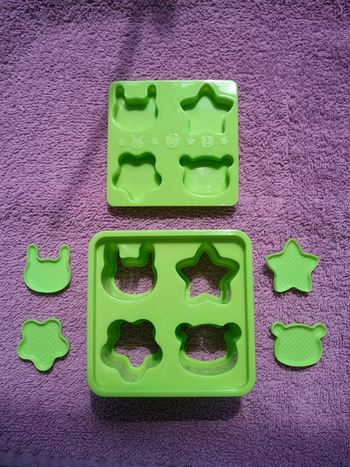 Japanese rice molds