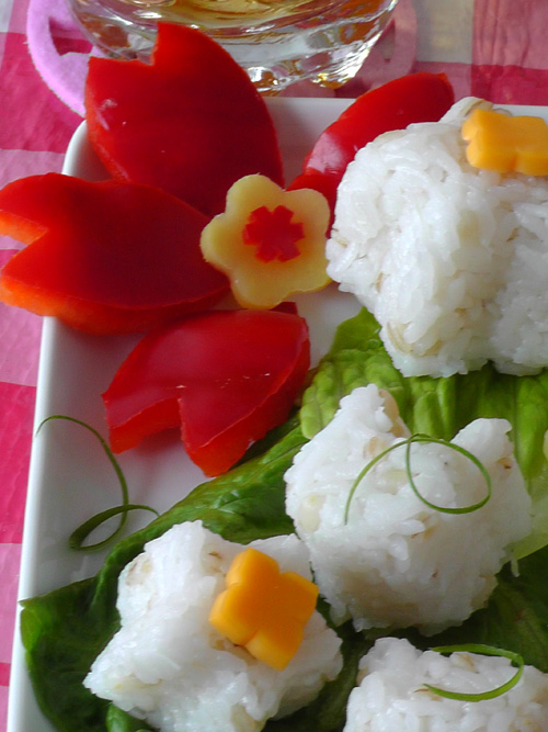 Japanese bento decorations